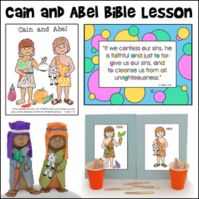 Cain and Abel Crafts and Games for Children's Ministry and Sunday School from www.daniellesplace.com