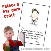 Picture for Daddy Father's Day Card with Poem