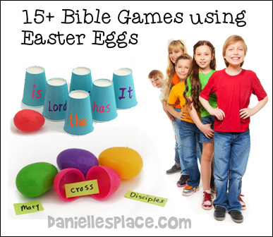 Easter Egg Bible Games for Sunday School
