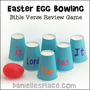 Egg Bowling Game - Bible Verse Review Game for Children's Ministry from www.daniellesplace.com