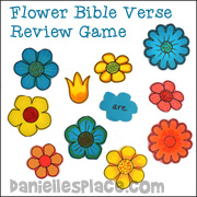 Concentration Memory Verse Game
