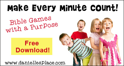 Fast and Easy Bible Games for Sunday School and Children's