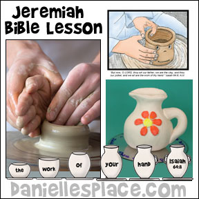 Jeremiah Bible Lesson with Crafts and Games for children from www.daniellesplace.com