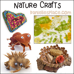 Nature Crafts for Kids from www.daniellesplace.com