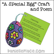 A Very Special Egg Bible Craft from www.daniellesplace.com
