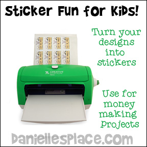 Sticker Making Fun for Kids of all Ages - Design yoru own stickers and use them for special events and money making projects!