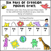 Six Days of Creation Pocket Craft