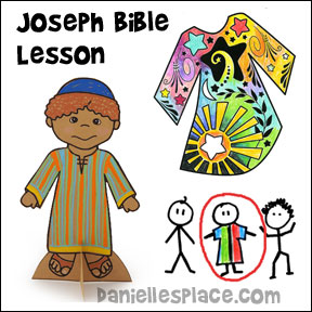 Joseph Bible Lesson for Sunday School and Children's Ministry from www.daniellesplace.com