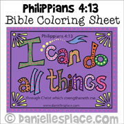 Bible Verse Coloring Sheets for Older Children