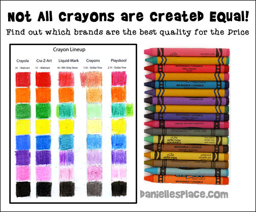 Back-to-School Crayon Lineup - Find out what crayons are the best for the price. We compare Crayola, Cra-Z-Art and brands from Dollar Tree and 99¢ Only stores