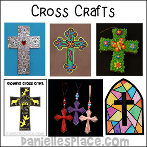 Cross Crafts for Children from www.daniellesplace.com