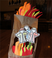 Fiery Furnace Bible Craft for Kids