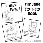 I Have Fleas Itty Bitty Book