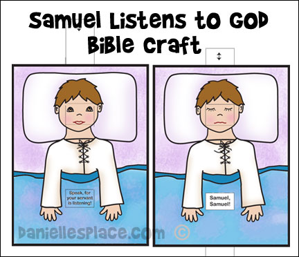 Bible Crafts - Samuel and Hannah