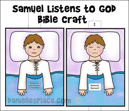 Free Preschool Craft For  Samuel