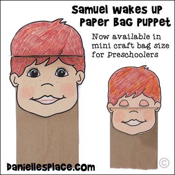 Free Preschool Craft Ideas For  Samuel