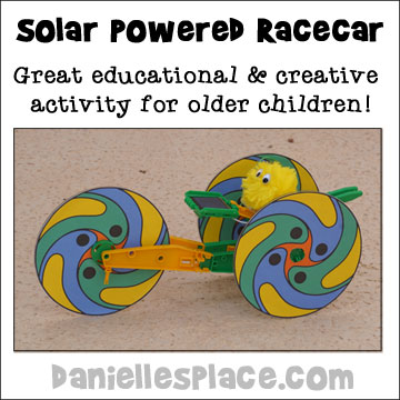 Solared Powered Race Car - Great science and crearive activity for older children.