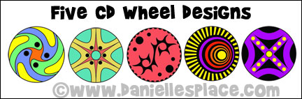CD wheel designs