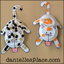 cat and kitten crafts for kids