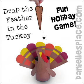 Drop the Feather in the Turkey Game