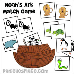 photo about Noah's Ark Printable named Bible Crafts and Actions, Bible Themes - Noahs Ark