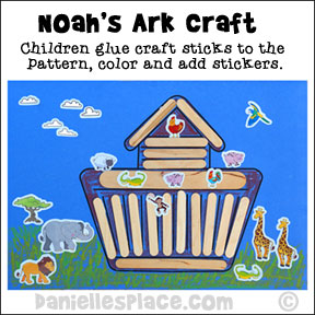 Bible Crafts And Activities Themes Noahs Ark