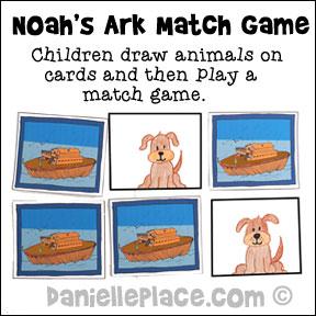 Noah's Ark Match Game