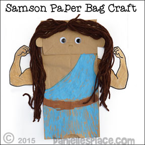 samson bible lesson for children