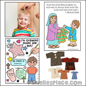 Samuel Grows Inside and Out Bible Lesson for Children from www.daniellesplace.com