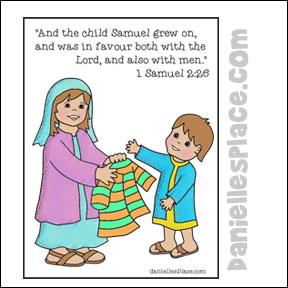 Bible Crafts Samuel and Hannah
