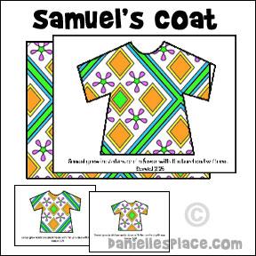 Samuel   Crafts For Preschoolers