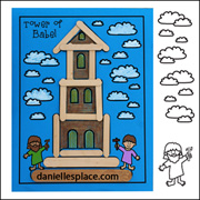 Tower of Babel Bible Crafts and Games