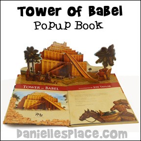 Tower of Babel Popup Book