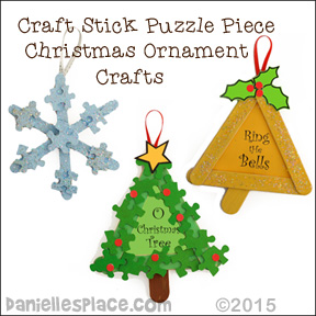 Christmas Crafts for Kids from www.daniellesplace.com