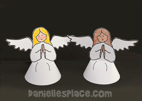Angels 3D Nativity Figures