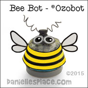 Ozobot Bee Costume from www.daniellesplace.com