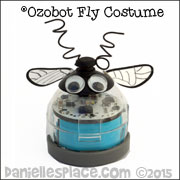Fly Ozobot Costume - Printable Patterns on www.daniellesplace.com