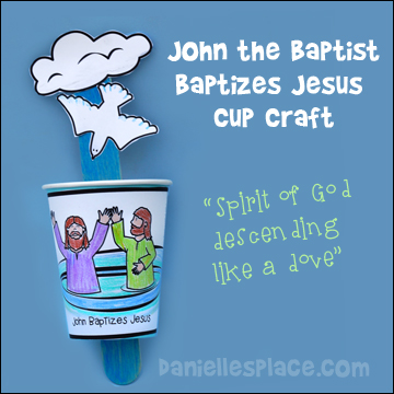 john the baptist cup craft