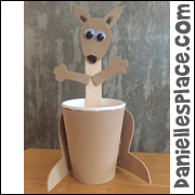 Kangaroo Crafts For Kids