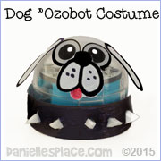 Dog Ozobot Costume from www.daniellesplace.com