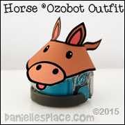 Horse Ozobot Printable Pattern from www.daniellesplace.com
