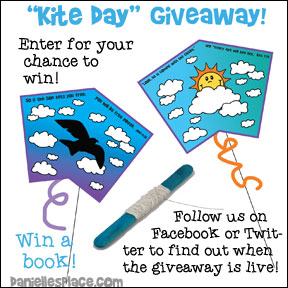 Kite Day Spring Giveaway! - Follow Danielle's Place of Facebook and Twitter to find out when this giveaway is live.