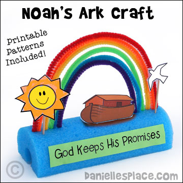 Bible craft noah page 2 for Noah and the ark crafts