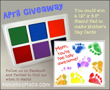 Stamp Pade Mother's Day Giveaway from www.daniellesplace.com