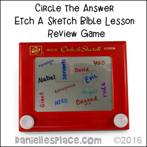 Etch A Sketch Bible Lesson Review Game from www.daniellesplace.com