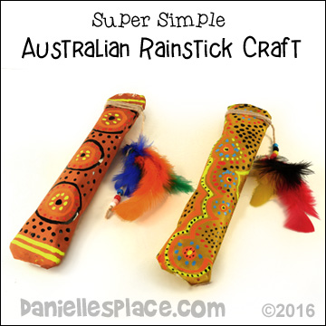 Australian Crafts For Kids