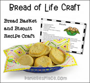 Thanksgiving Bread Basket Craft