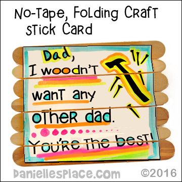 graphic relating to Printable Fathers Day Craft named Fathers Working day Crafts Youngsters Can Generate