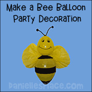 Bee Balloon Decoration