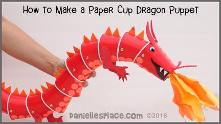 Make A Paper Dragon Template